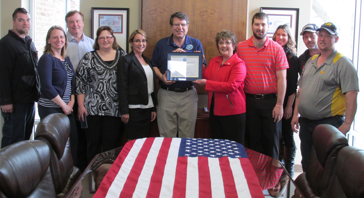 EBI Receives ESGR Above & Beyond Award