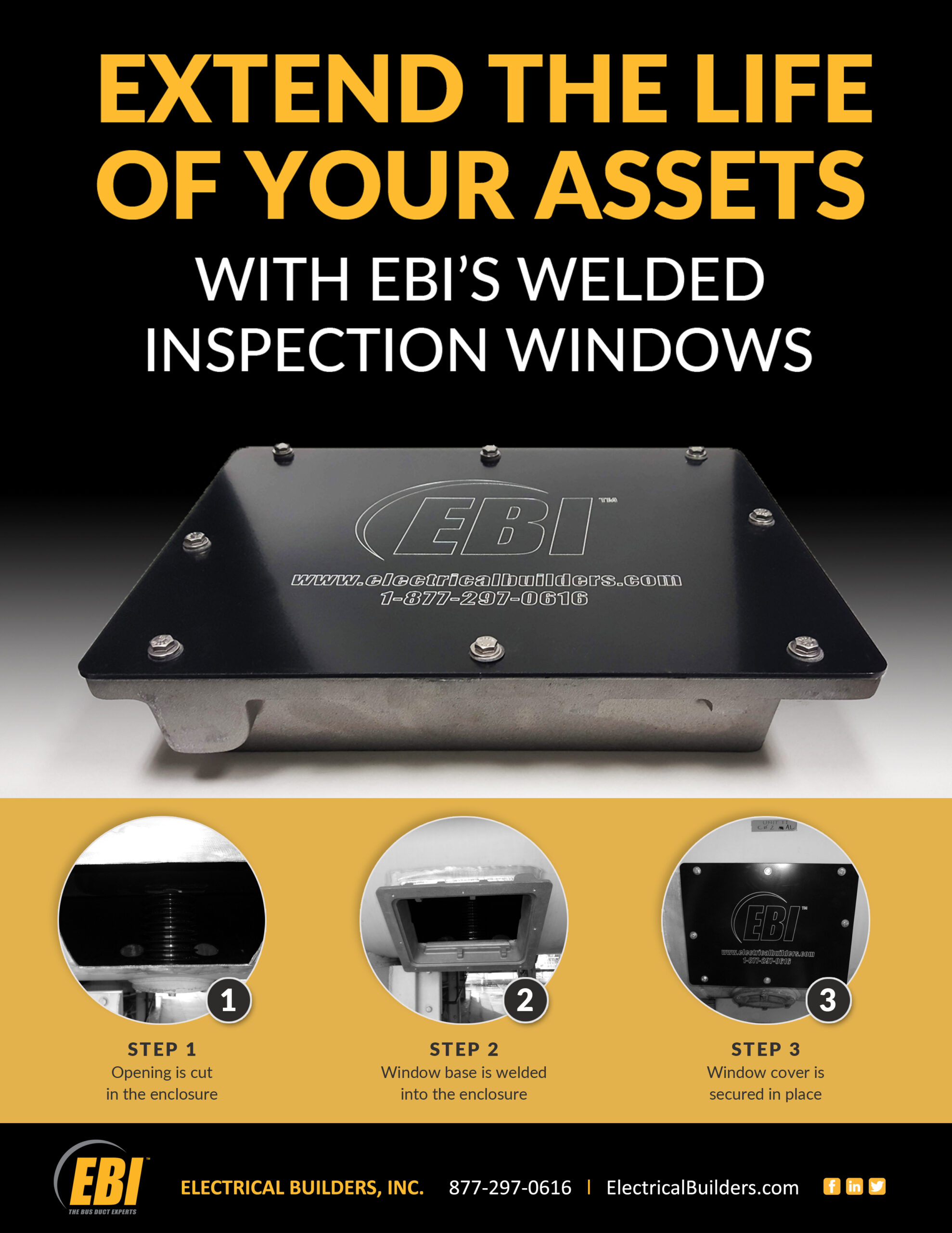 Welded Inspection Windows